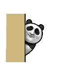 かわいいパンダさん(個別スタンプ:03)
