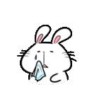 白うさ茶うさ(個別スタンプ:16)