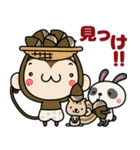 ゆるゆるもんちー7☆秋あるある☆(個別スタンプ:26)