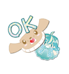 ニット帽フレンド(にゅ~)(個別スタンプ:4)