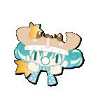 ニット帽フレンド(にゅ~)(個別スタンプ:10)