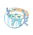 ニット帽フレンド(にゅ~)(個別スタンプ:19)