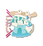 ニット帽フレンド(にゅ~)(個別スタンプ:22)