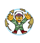 ※寡黙なカモフラ男※※(個別スタンプ:05)