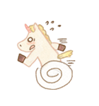 Unicorn MaNi's Daily(個別スタンプ:34)