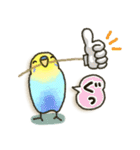 インコちゃん日常パック(個別スタンプ:04)