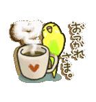 インコちゃん日常パック(個別スタンプ:28)