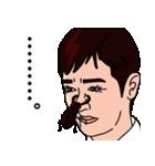 鼻にクワガタ(個別スタンプ:18)