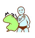 フキダシと青男(個別スタンプ:1)