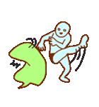 フキダシと青男(個別スタンプ:3)