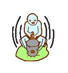 フキダシと青男(個別スタンプ:5)