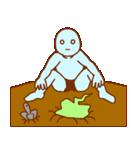 フキダシと青男(個別スタンプ:11)