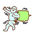フキダシと青男(個別スタンプ:17)