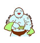 フキダシと青男(個別スタンプ:19)