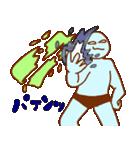 フキダシと青男(個別スタンプ:33)