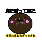 顔黒丸゜(個別スタンプ:39)