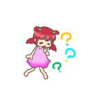 Kawaii  Rabiko  simple  word     vor.1(個別スタンプ:09)