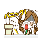 かわいい主婦の1日【パート/アルバイト編】(個別スタンプ:16)