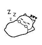 シンプルな猫(個別スタンプ:40)