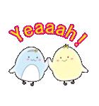 ひよこのタマちゃんとペンギンのミミちゃん(個別スタンプ:33)