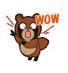動物キャラナビランドスタンプ Ver.たぬき(個別スタンプ:14)