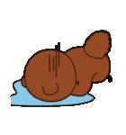 動物キャラナビランドスタンプ Ver.たぬき(個別スタンプ:27)
