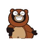 動物キャラナビランドスタンプ Ver.たぬき(個別スタンプ:33)