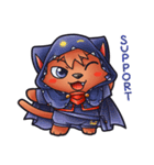 お祭りちゃんの奇想世界4(個別スタンプ:01)