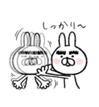 マユゲあ~げ~るっ♪(個別スタンプ:07)