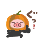 ぶたたの秋(個別スタンプ:36)