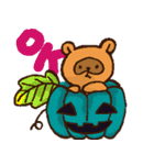 たぬきハロウィン(個別スタンプ:01)