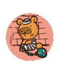 たぬきハロウィン(個別スタンプ:08)