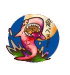 たぬきハロウィン(個別スタンプ:31)
