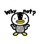 凸凹ペンギン 4(個別スタンプ:28)