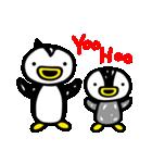 凸凹ペンギン 4(個別スタンプ:37)