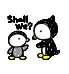凸凹ペンギン 4(個別スタンプ:40)