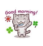 猫と四つ葉のクローバー 3(個別スタンプ:21)