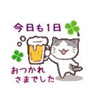 猫と四つ葉のクローバー 3(個別スタンプ:31)