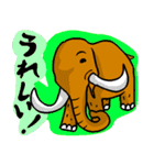 なんかマンモス(個別スタンプ:06)