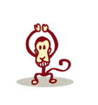 サル サル(個別スタンプ:1)