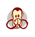 サル サル(個別スタンプ:31)