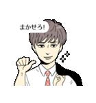 スーツ男子2人組(個別スタンプ:07)