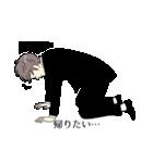 スーツ男子2人組(個別スタンプ:35)