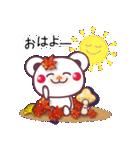 秋だね&ハロウィンdeチョコくま(個別スタンプ:40)