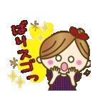 new!九州弁♥博多弁のかわいい女の子(個別スタンプ:25)