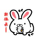 うさマロ(個別スタンプ:01)
