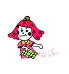 Smelly sister of everyday life(個別スタンプ:16)