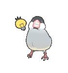 文鳥のスタンプ(個別スタンプ:26)