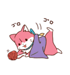 三色にゃんこ(個別スタンプ:33)