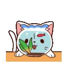 三色にゃんこ(個別スタンプ:38)